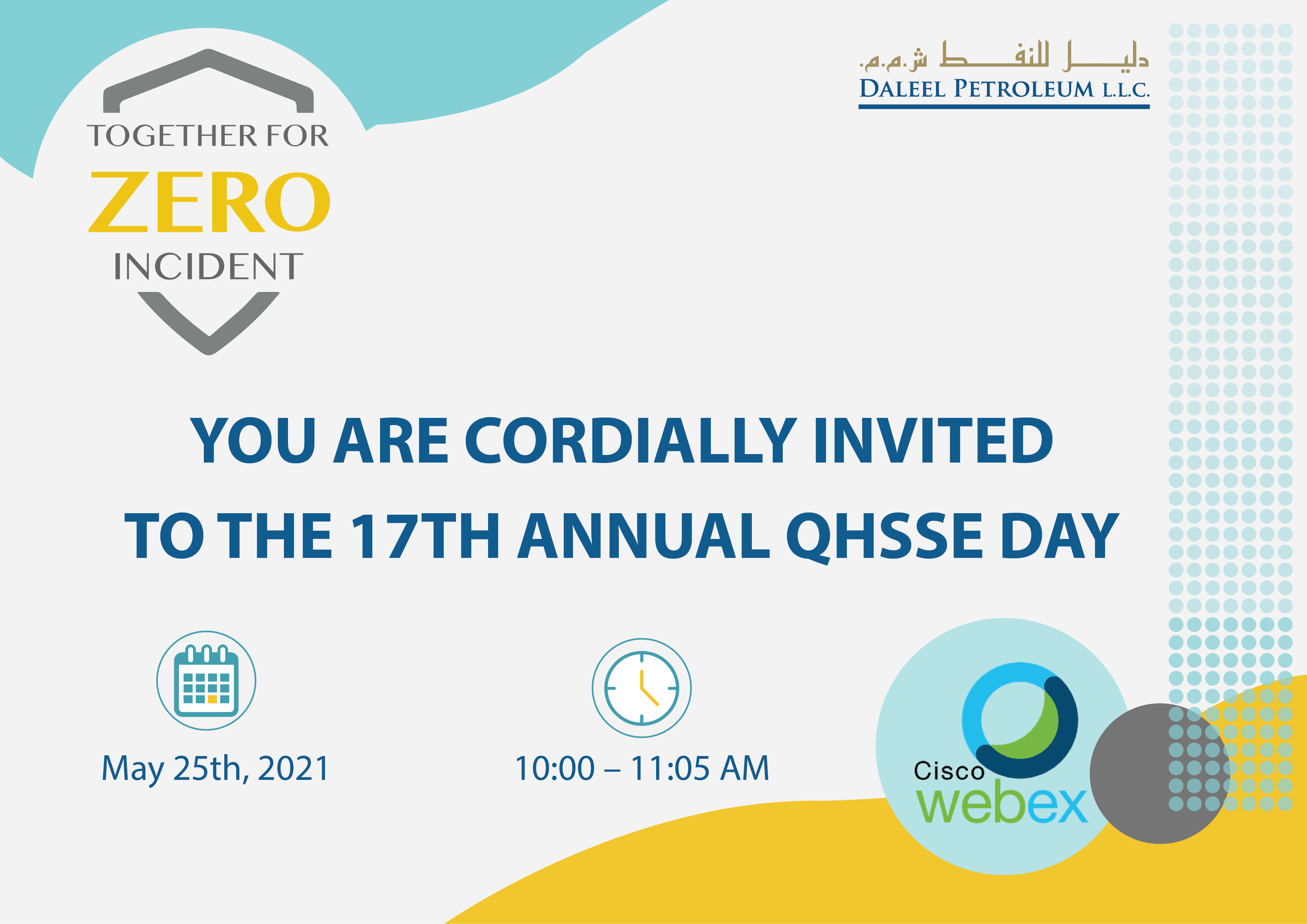 Virtually: Health, Safety, Security and Environment (QHSSE) Awareness Day